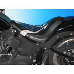 Asiento SINGLE FANTASY PITON HARLEY SOFTAIL Standard- Night Tr