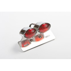 """CAT EYE DUAL"" Taillight. E-MARK"