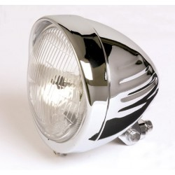 """GROOVED"" 5-3/4 inches Headlight"