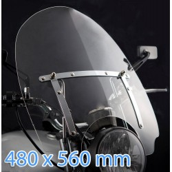 custom windshield for Honda VT750DC Black Widow
