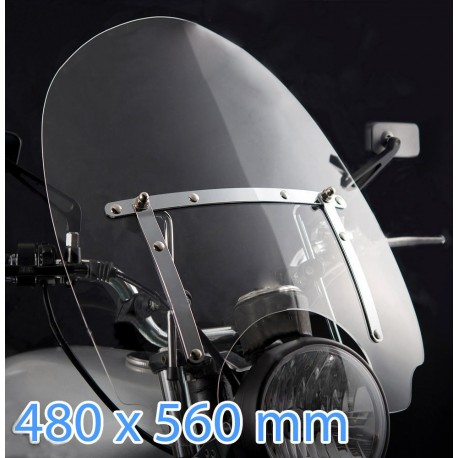 custom windshield for Yamaha XVS650 / XVS650Classic / XVS400 Dra